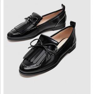 Zara never worn loafers